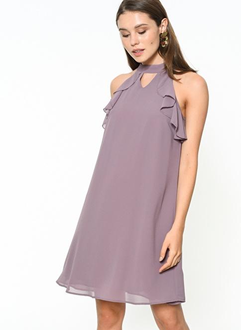 Glamorous Elbise Lila
